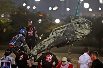 Une enquête est lancée sur l'accident de Grosjean)