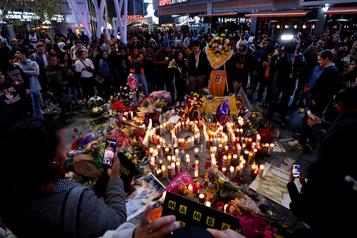 Kobe Bryant: la ville de Los Angeles unie dans le deuil