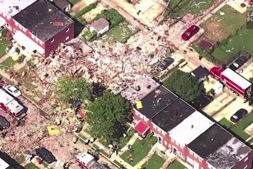 Baltimore: une explosion dans un quartier résidentiel fait un mort)