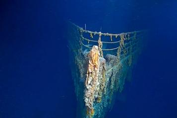 L'épave du Titanic se détériore