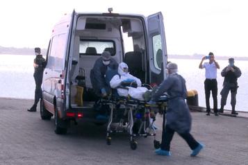 Plus de 80malades de la COVID-19 à bord d'un paquebot au large de l'Uruguay