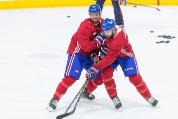 Le Canadien Paquette et Perreault veulent faire bonne impression)