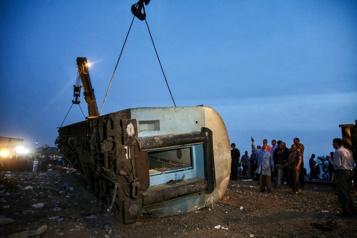 Un accident de train en Égypte fait 11morts et près de 100blessés)