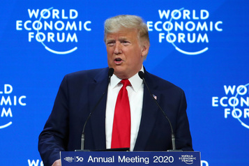 Climat: Trump fustige les «prophètes de malheur» devant Greta Thunberg