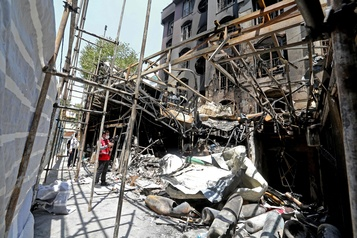 Explosions en Iran: plus que des coïncidences, selon des experts)