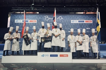Le chef norvégien Christian André Pettersen remporte le Bocuse d'Or Europe)