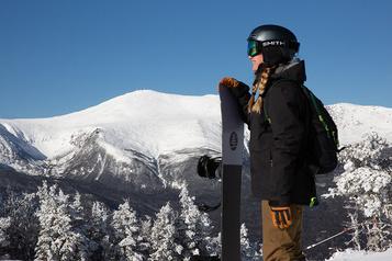 Les montagnes Blanches du New Hampshire, berceau du ski américain