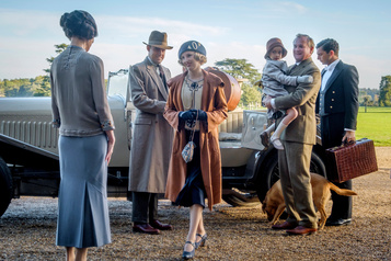 Arrivée royale de Downton Abbey au box-office