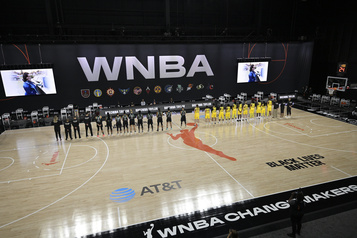 WNBA: les joueuses de Seattle et New York boycottent l'hymne national)