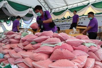 La Thaïlande resserre la pression sur les cartels de la drogue)