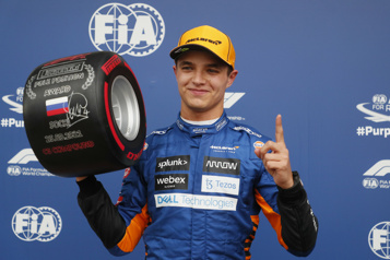Grand Prix de Russie Lando Norris obtient sa première position de tête