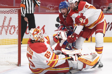 Flames 4 – Canadien 1 Le Canadien s'incline face aux Flames)