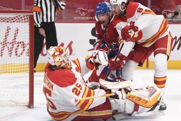 Flames4 – Canadien1 Le Canadien s'incline face aux Flames)