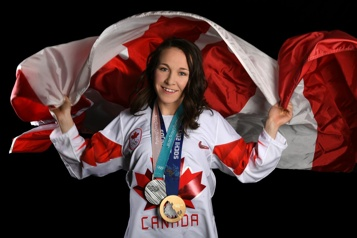 Jocelyne Larocque Inspirer les hockeyeuses autochtones)