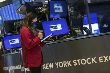 Les Bourses nord-américaines tourmentées par l'évolution de la pandémie)