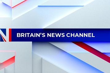 Une nouvelle chaîne, GB News, est lancée au Royaume-Uni)