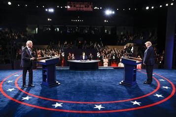 Présidentielle américaine Trump et Biden se sont affrontés dans un ultime débat)