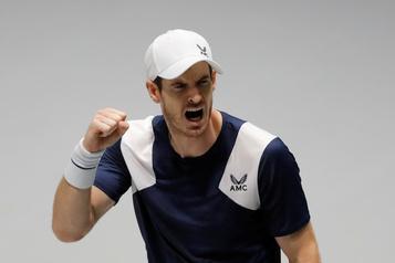 Andy Murray l'emporte à son retour en Coupe Davis