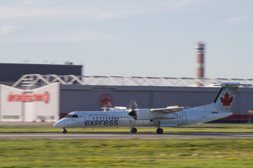 Entente avec Air Canada Espoir d'une meilleure desserte du transport aérien régional)