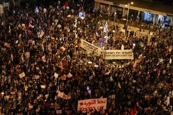 Israël: nouvelle manifestation anti-Nétanyahou à Jérusalem)