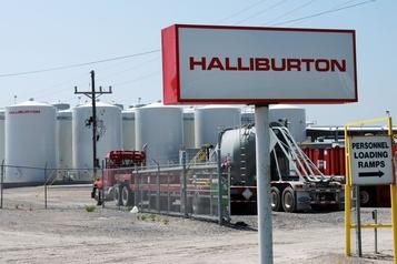 Halliburton lesté par une activité pétrolière réduite en Amérique du Nord