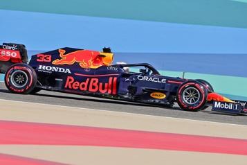 Grand Prix de Bahreïn Verstappen domine les deux séances d'essais libres)