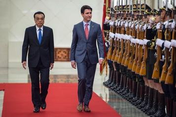 L'espoir éteint d'un accord de libre-échange avec la Chine )