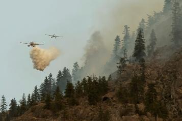Incendies de forêt La situation s'améliore en Colombie-Britannique)