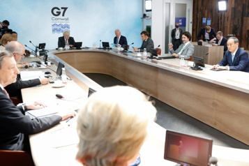 Dernier jour du sommet Le G7 passe à l'action face à la pandémie, le climat et la Chine)