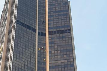 France Un homme arrêté après avoir escaladé la Tour Montparnasse)