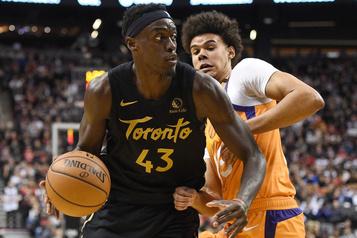 Les Raptors de Toronto l'emportent 118-101