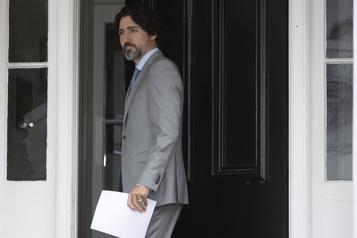 Trudeau plaide pour un accès universel à un vaccin lors d'un sommet mondial)