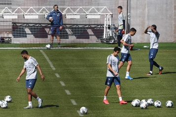 Le Bayern Munich reprend l'entraînement