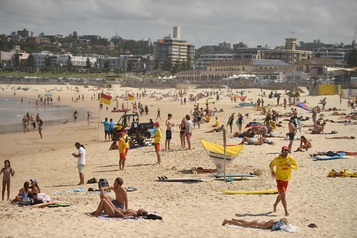 Sydney ferme la célèbre plage de BondiBeach