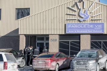 Québec Plus de 40personnes rassemblées dans un centre évangélique)