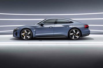 Audi La concurrence de l'Audi RS e-tron GT)