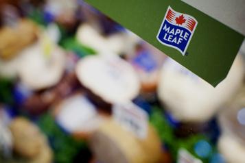 Maple Leaf affiche un profit de 47,7 millions)