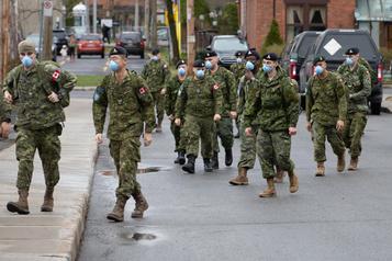 Aide de l'armée prolongée dans les CHSLD:la Défense «neveut rien savoir»)