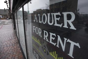 Le programme d'aide pour le loyer commercial pourrait coûter 520millions)