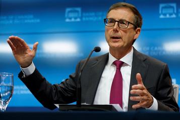 Le patron de la Banque du Canada inquiet de l'inégalité du rebond économique)