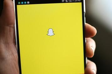 Snapchat Retrait d'un filtre prisé des amateurs de vitesse)