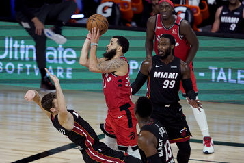 Autre gain des Raptors face au Heat)