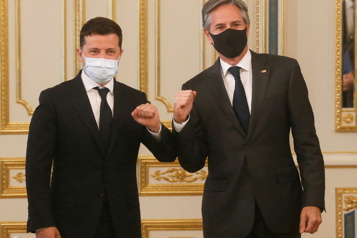 Blinken appelle Moscou à cesser son action «agressive» contre l'Ukraine)