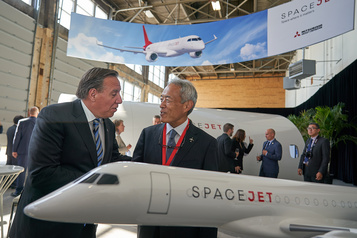 Aéronautique: la disparition de Mitsubishi suscitel'inquiétude)