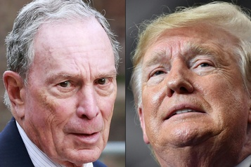 Bloomberg appelle à «battre» Trump