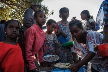 La guerre au Tigré arrache des milliers d'enfants à leurs parents)