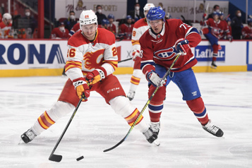 Pointage final Flames 4 – Canadien 1)