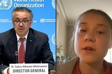 inégalité vaccinale  Greta Thunberg apporte son soutien financier au système Covax)