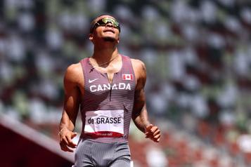 Athlétisme 200 m De Grasse et Brown accèdent à la finale)