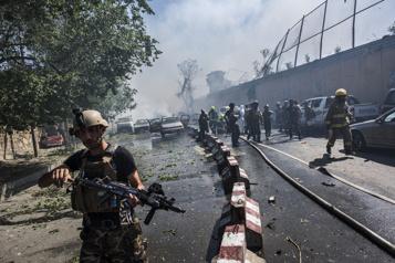 Menaces Washington rappelle du personnel de l'ambassade de Kaboul )